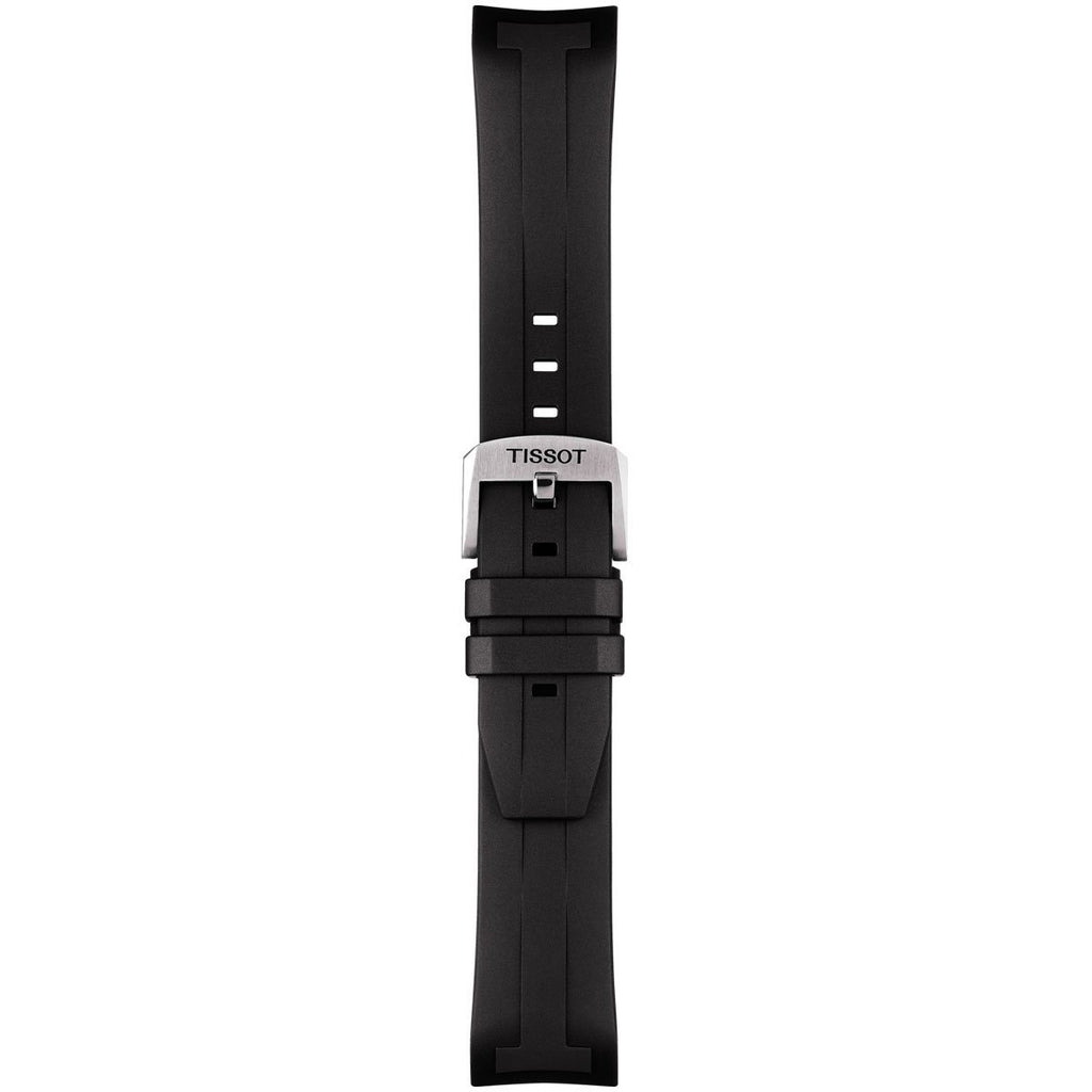 TISSOT SEASTAR 1000 CHRONOGRAPH 22MM BLACK RUBBER STRAP