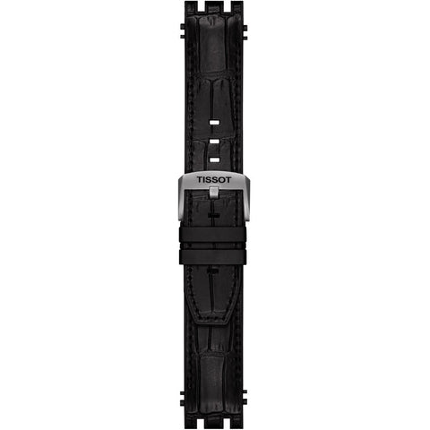 TISSOT T-RACE AUTOMATIC BLACK RUBBER STRAP