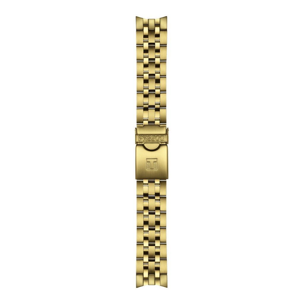 Genuine Tissot 19mm PRS200 Gold Coated Steel Bracelet by Tissot