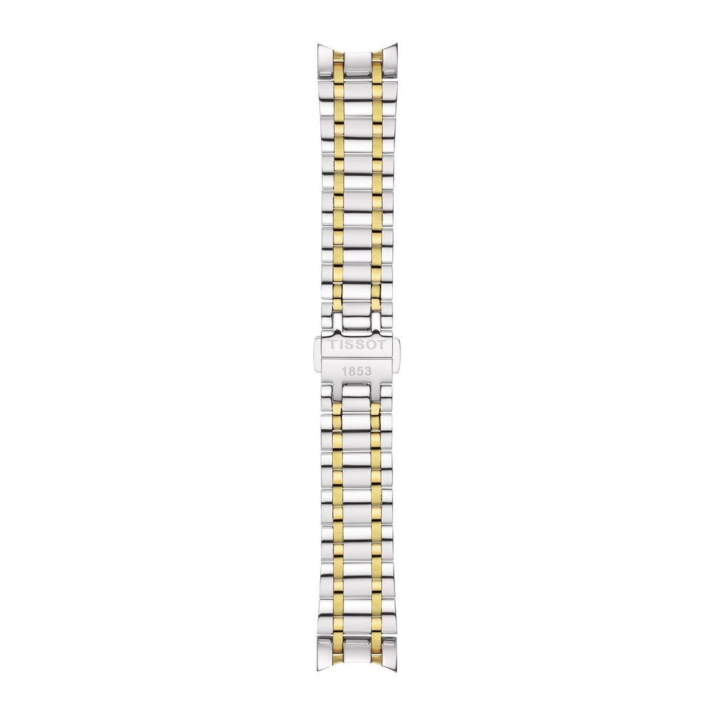 Genuine Tissot 18mm Couturier Two-Tone Coated Steel Bracelet by Tissot