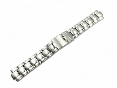 Genuine Wenger 20mm Silver Tone Stainless Steel Watch Band