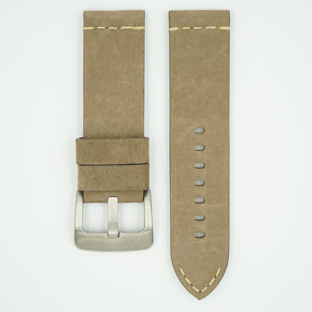 Thick Vintage Taupe Leather Strap image
