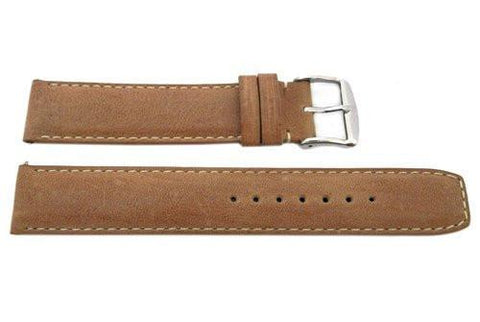 ZRC Genuine Handmade Spitfire Cow Smooth Leather 18mm Watch Strap