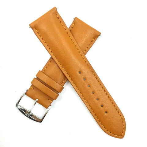ZRC 301 Tan Genuine Leather 16mm-22mm Watch Band