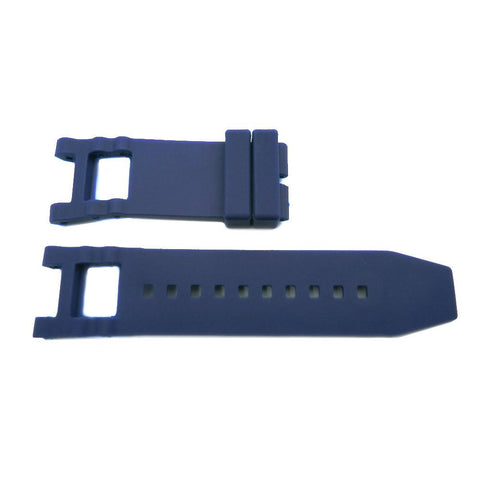 Generic Invicta Subaqua Noma Navy Blue 28mm Silicone Replacement Watch Strap