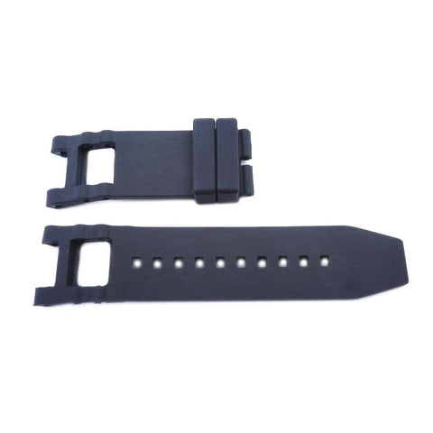 Generic Invicta Subaqua Noma Black 28mm Silicone Replacement Watch Strap