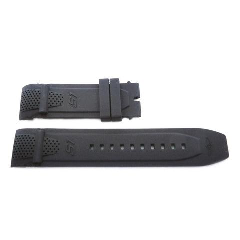 Generic Invicta S1 Rally Black 26mm Silicone Replacement Watch Strap