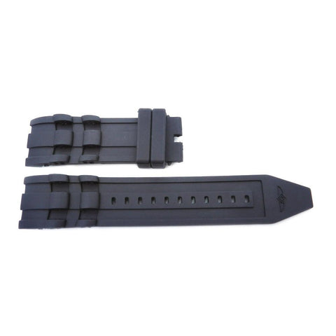Generic Invicta Pro Diver Black 26mm Silicone Replacement Watch Strap