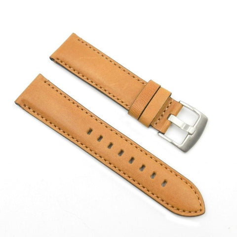 Horween Chromexcel 22mm Tan Leather Strap