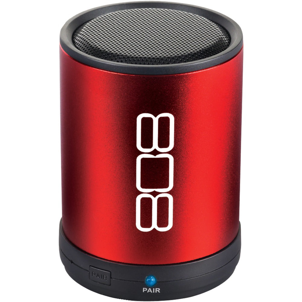 808 Canz Bluetooth Portable Speaker (red)