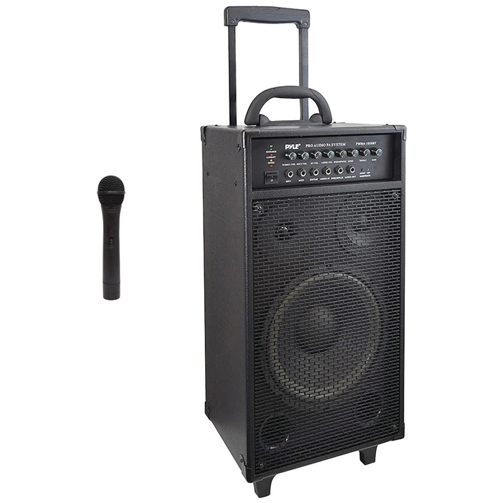 Pyle Pro Wireless Portable Bluetooth Pa Speaker System
