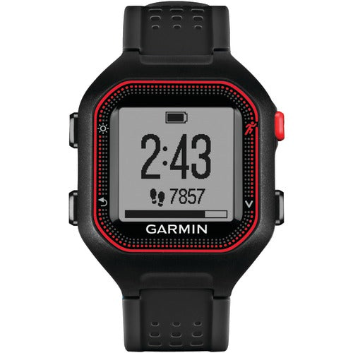 Garmin Forerunner 25 Gps Running Watch (large; Black And Red)