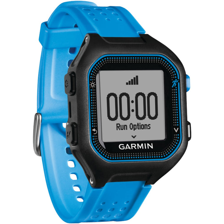 Garmin Forerunner 25 Gps Running Watch (large; Black And Blue)