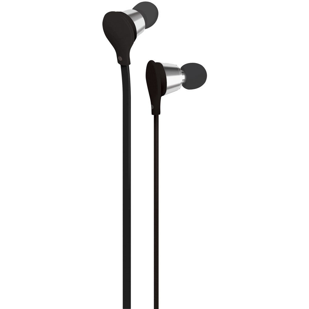 At&t Jive Noise-isolating Earbuds With Microphone (black)
