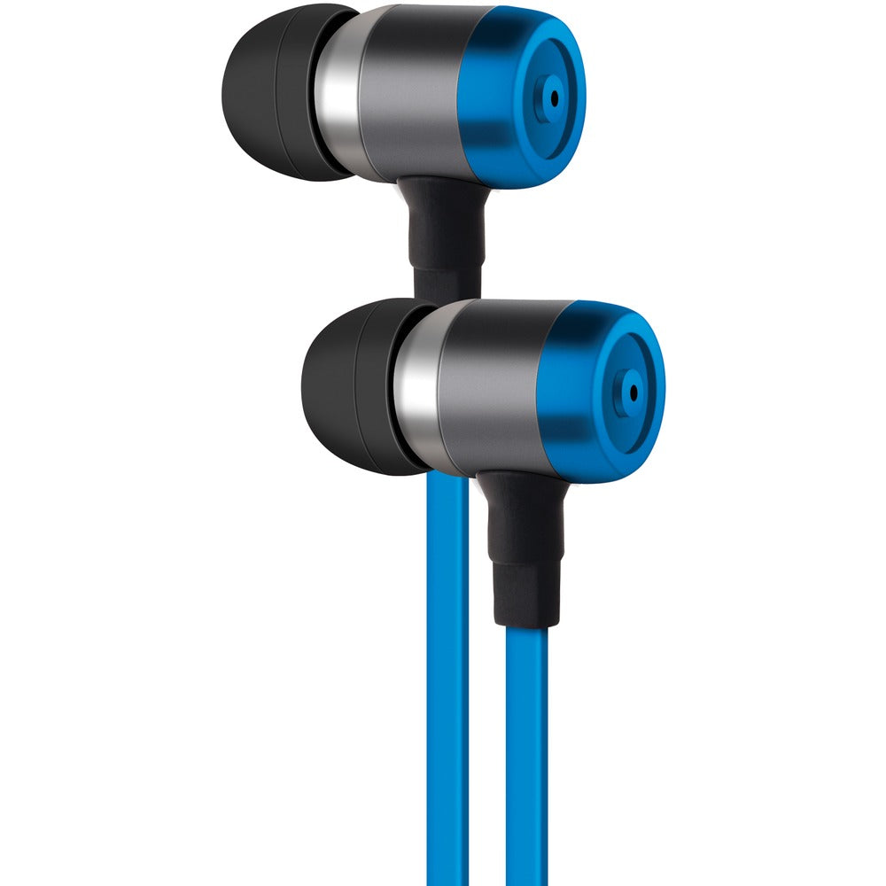 At&t Pe50 In-ear Stereo Earbuds With Microphone (blue)