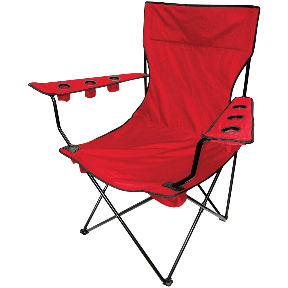 Creative Outdoor Distributor Folding Kingpin Chair (red)