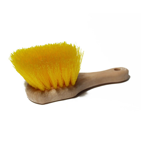 Premium Yellow Hard Bristle Brush