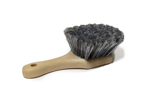 Premium Gray Soft Bristle Brush