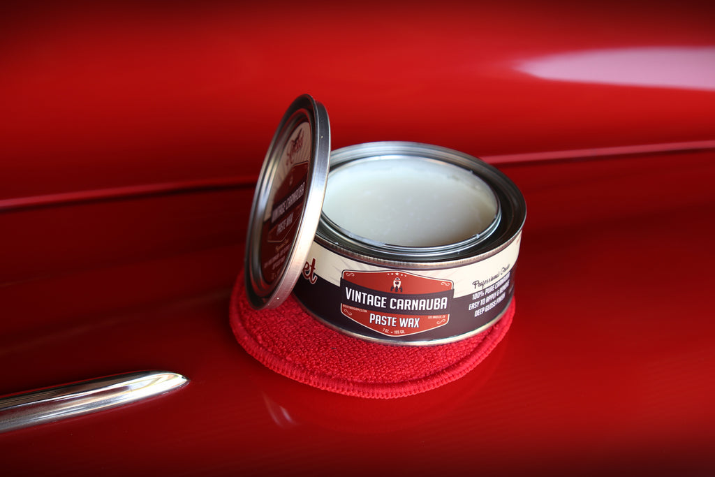 Vintage Carnauba Paste Wax + Applicator