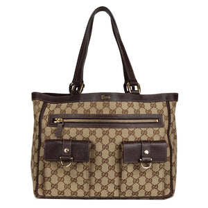 Gucci Abbey Ring Tote 6887 (Authentic Pre-Owned)