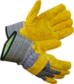 Leather Palm Gloves B202BR