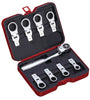 9 PC Ratchet & Box-end Ratchet Head Set, Inch