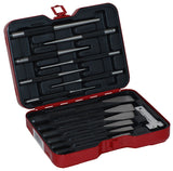 Cold Chisels, Pin and Tapered Punch Set, 14-Piece