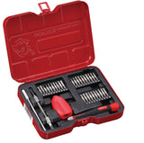 34 PC Precision Screwdriver & Bit Set