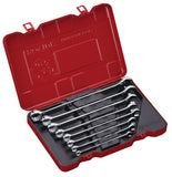 8 PC Spherical Combination Wrench Set, Inch