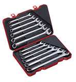 12 PC Spherical Combination Wrench Set, Metric