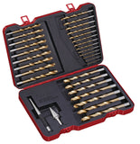 31 PC Drill Bit Set Titan, Inch