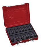 "1/2"" Dr. 14 PC Deep Impact Socket Set, Metric"