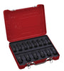 "1/2"" Dr. 14 PC Deep Impact Socket Set, Inch"