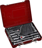 "1/4"", 1/2"" Dr. 39 PC Socket & Wrench Set, Inch"