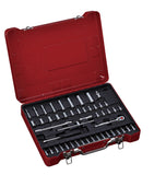 "1/4"" Dr. 49 PC Socket & Socket Bit Set, Inch"