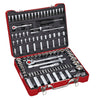 "1/4"", 1/2"" Dr. 104 PC Socket & Bit Set, Metric"