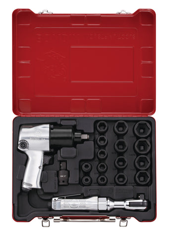 18 PC Air Tool Set, Inch