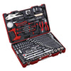 "1/4"", 1/2"" Dr. 119 PC Socket & Tool Set, Inch"