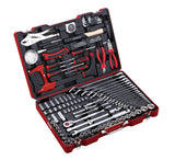 "1/4"", 1/2"" Dr. 126 PC Socket & Tool Set, Metric"