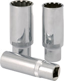 "3/8"" Dr. Spherical Deep Socket, Metric"