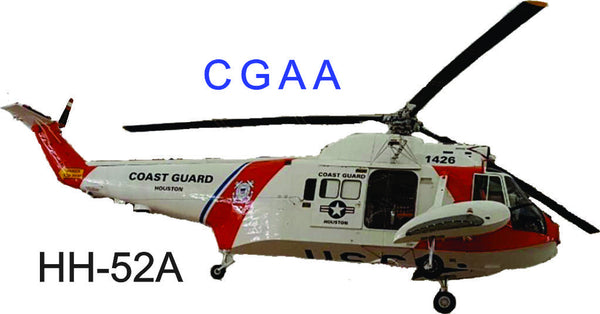 US Coast Guard HH52-A Helicopter Shirts