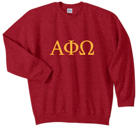 Crewneck Sweatshirt-Greek only