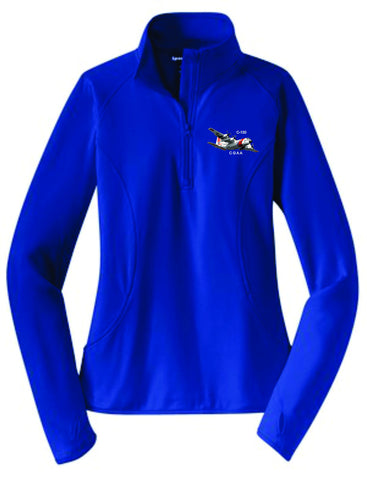 C-130 Ladies 1/4 Zip Pullover