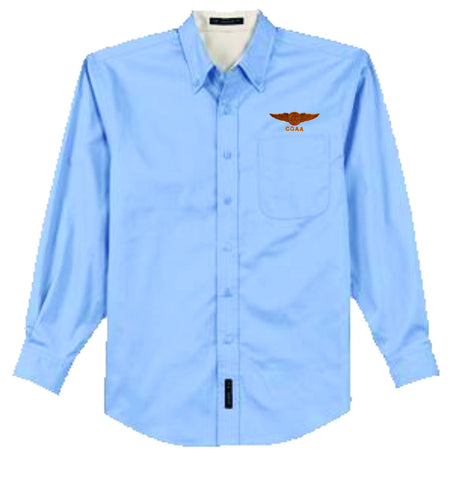 Swimmer Wings Button-down Shirt