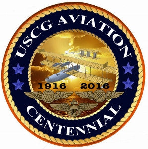 USCG Aviation Centennial Decal