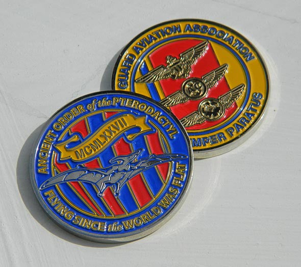 Ptero Challenge Coin