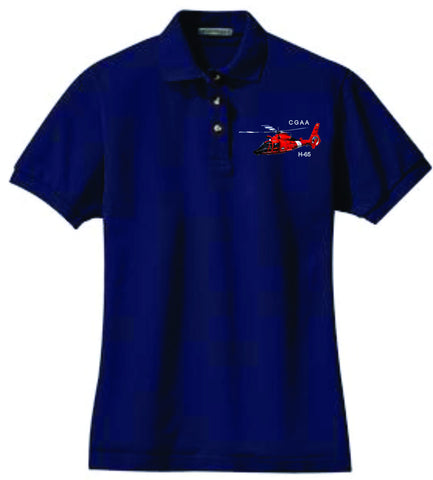 H-65 Ladies Cotton Polo
