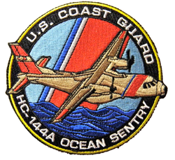Coast Guard HC-144A Patch