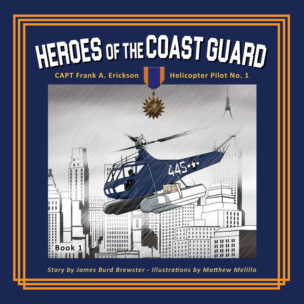 Book Heroes of the Coast Guard by Brewster