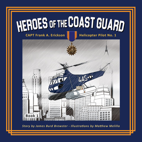 Book Heroes of the Coast Guard by Erickson
